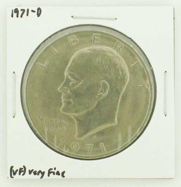 1971-D Eisenhower Dollar RATING: (VF) Very Fine N2-2511-14