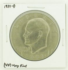 1971-D Eisenhower Dollar RATING: (VF) Very Fine N2-2511-16