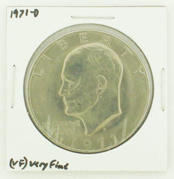 1971-D Eisenhower Dollar RATING: (VF) Very Fine N2-2511-17