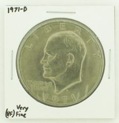 1971-D Eisenhower Dollar RATING: (VF) Very Fine N2-2511-19
