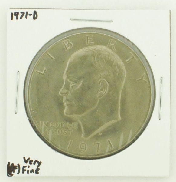 1971-D Eisenhower Dollar RATING: (VF) Very Fine N2-2511-20