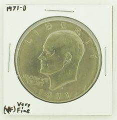 1971-D Eisenhower Dollar RATING: (VF) Very Fine N2-2511-21