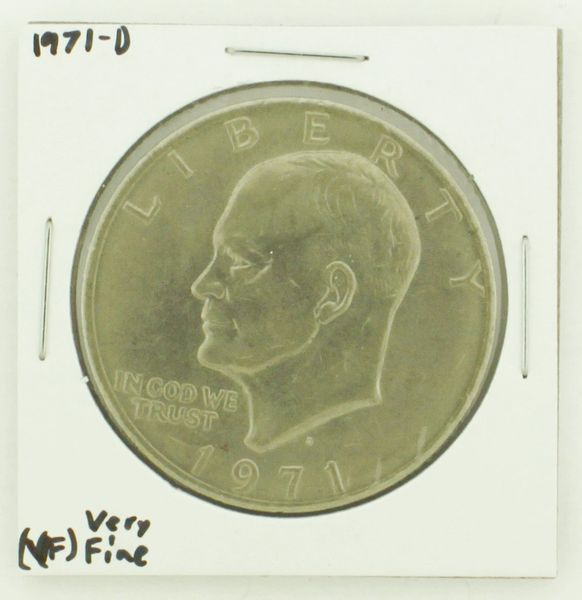 1971-D Eisenhower Dollar RATING: (VF) Very Fine N2-2511-21
