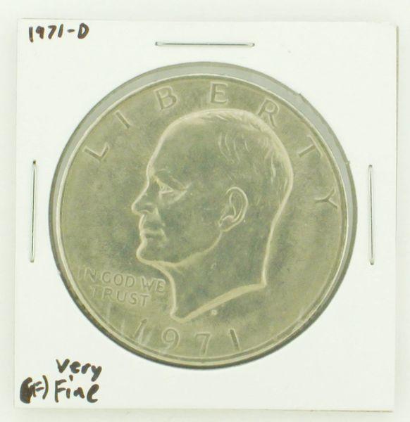1971-D Eisenhower Dollar RATING: (VF) Very Fine N2-2511-23