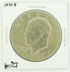 1971-D Eisenhower Dollar RATING: (VF) Very Fine N2-2511-24