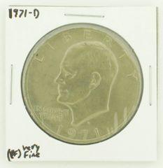 1971-D Eisenhower Dollar RATING: (VF) Very Fine N2-2511-25