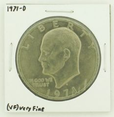 1971-D Eisenhower Dollar RATING: (VF) Very Fine N2-2511-26