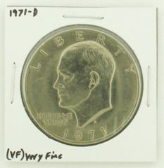 1971-D Eisenhower Dollar RATING: (VF) Very Fine N2-2511-27