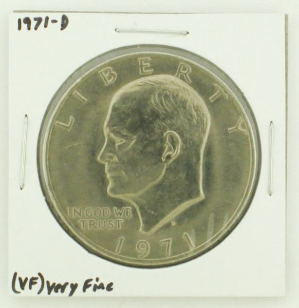 1971-D Eisenhower Dollar RATING: (VF) Very Fine N2-2511-27