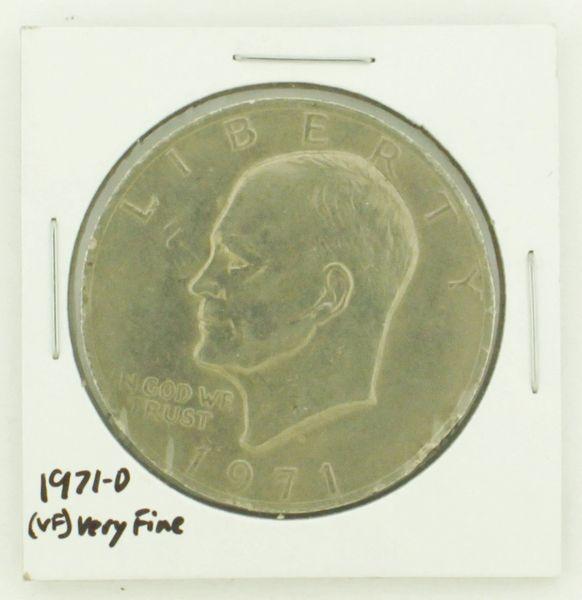 1971-D Eisenhower Dollar RATING: (VF) Very Fine N2-2511-29