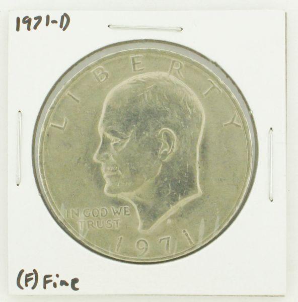 1971-D Eisenhower Dollar RATING: (F) Fine N2-2512-2