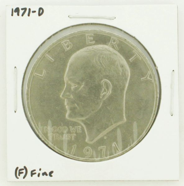 1971-D Eisenhower Dollar RATING: (F) Fine N2-2512-3