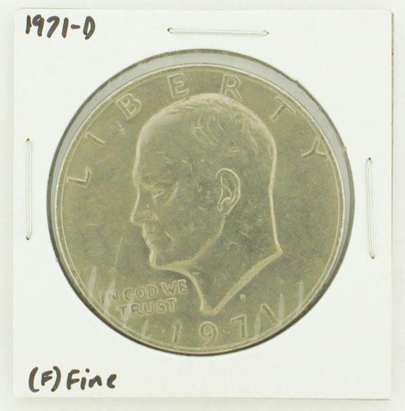 1971-D Eisenhower Dollar RATING: (F) Fine N2-2512-4