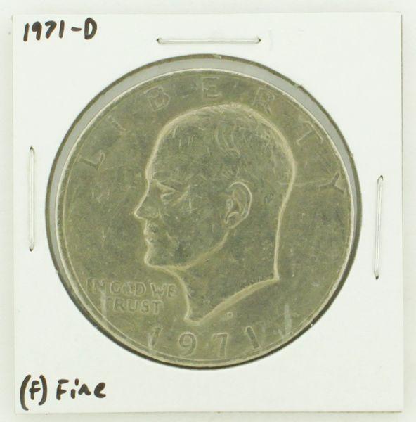 1971-D Eisenhower Dollar RATING: (F) Fine N2-2512-5