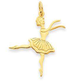 Ballerina Charm (JC-744)