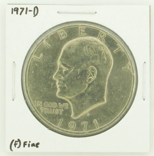 1971-D Eisenhower Dollar RATING: (F) Fine N2-2512-8
