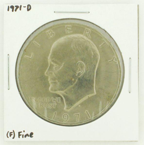 1971-D Eisenhower Dollar RATING: (F) Fine N2-2512-11