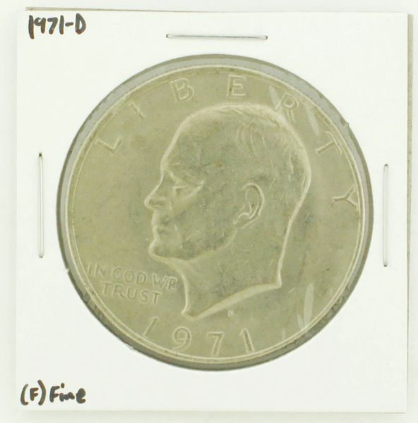 1971-D Eisenhower Dollar RATING: (F) Fine N2-2512-12