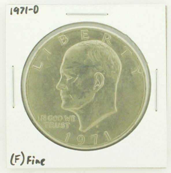1971-D Eisenhower Dollar RATING: (F) Fine N2-2512-14