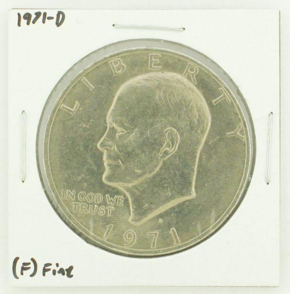1971-D Eisenhower Dollar RATING: (F) Fine N2-2512-18