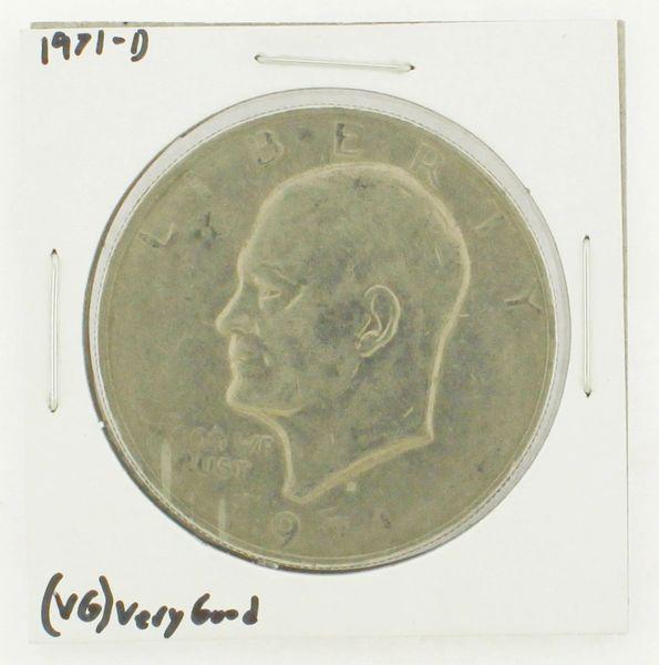 1971-D Eisenhower Dollar RATING: (VG) Very Good N2-2513