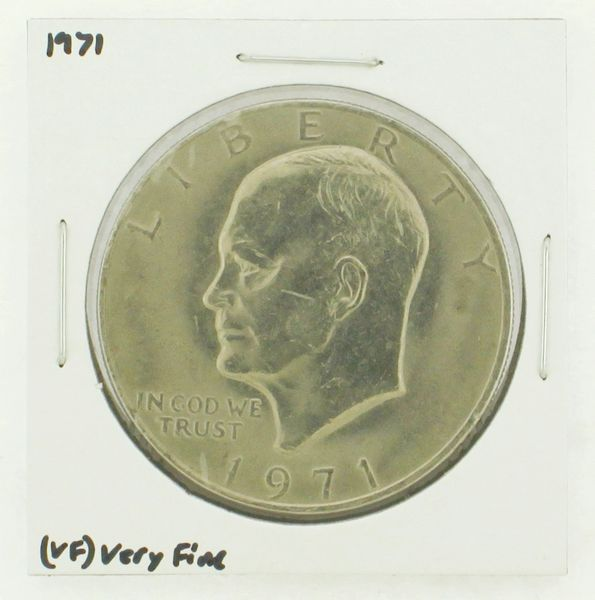 1971 Eisenhower Dollar RATING: (VF) Very Fine N2-2514-1