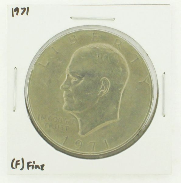 1971 Eisenhower Dollar RATING: (VF) Very Fine N2-2514-3