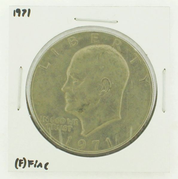 1971 Eisenhower Dollar RATING: (VF) Very Fine N2-2514-4