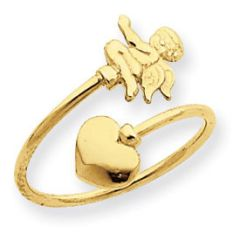 Cupid & Heart Toe Ring (JC-795)