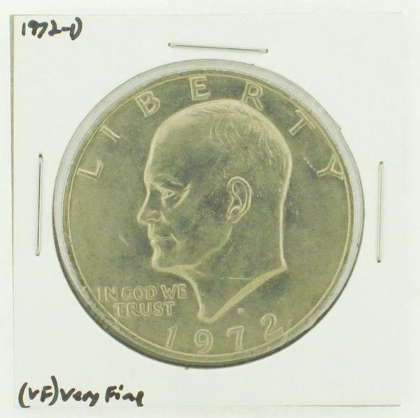 1972-D Eisenhower Dollar RATING: (VF) Very Fine N2-2806-21