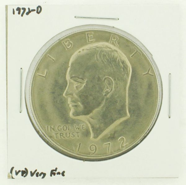 1972-D Eisenhower Dollar RATING: (VF) Very Fine N2-2806-22