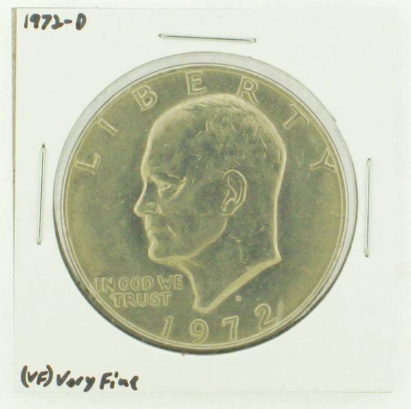 1972-D Eisenhower Dollar RATING: (VF) Very Fine N2-2806-23