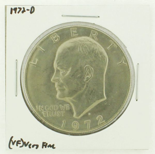 1972-D Eisenhower Dollar RATING: (VF) Very Fine N2-2806-24