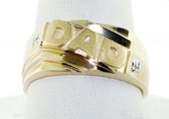 Mens Dad Ring with 2 Stones (JC-1069)