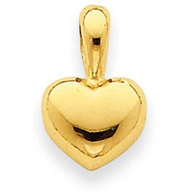 Puffed Heart Pendant (JC-837)