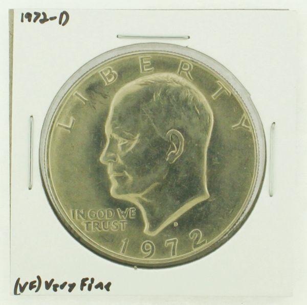 1972-D Eisenhower Dollar RATING: (VF) Very Fine N2-2806-27