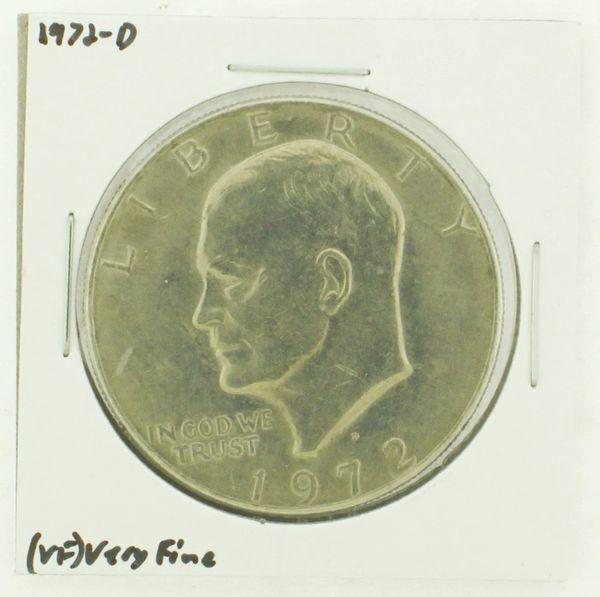 1972-D Eisenhower Dollar RATING: (VF) Very Fine N2-2806-28