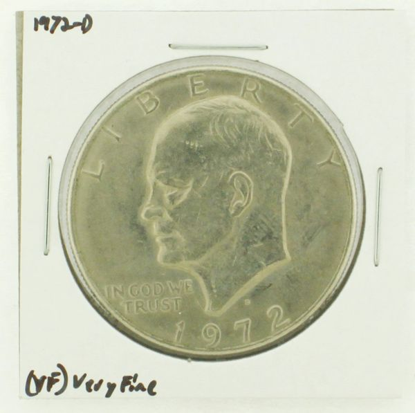 1972-D Eisenhower Dollar RATING: (VF) Very Fine N2-2806-29