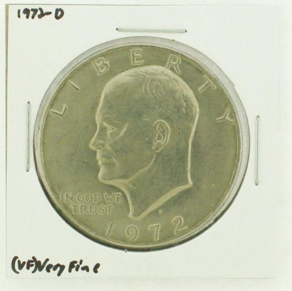 1972-D Eisenhower Dollar RATING: (VF) Very Fine N2-2806-30