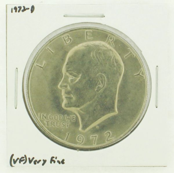 1972-D Eisenhower Dollar RATING: (VF) Very Fine N2-2806-31