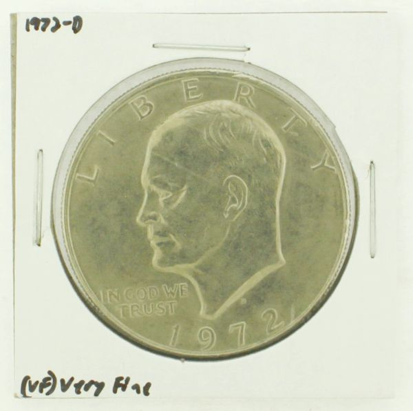 1972-D Eisenhower Dollar RATING: (VF) Very Fine N2-2806-32