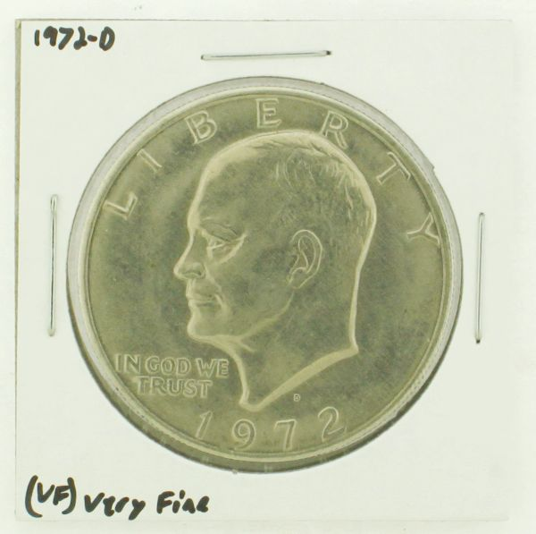 1972-D Eisenhower Dollar RATING: (VF) Very Fine N2-2806-34