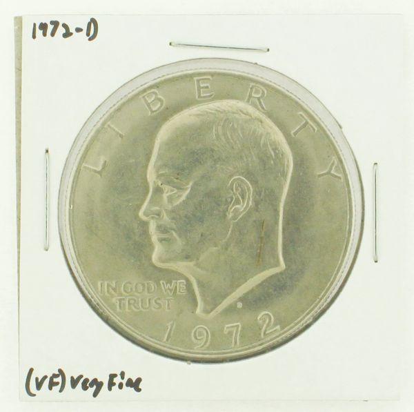 1972-D Eisenhower Dollar RATING: (VF) Very Fine N2-2806-35