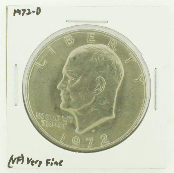 1972-D Eisenhower Dollar RATING: (VF) Very Fine N2-2806-36