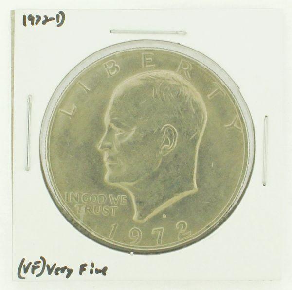 1972-D Eisenhower Dollar RATING: (VF) Very Fine N2-2806-37