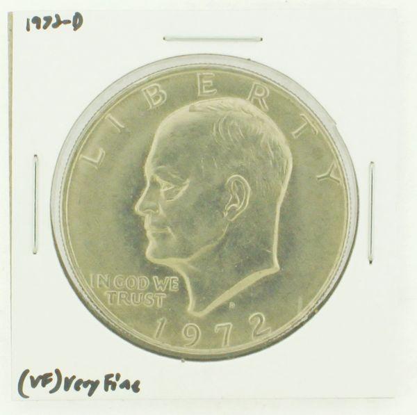 1972-D Eisenhower Dollar RATING: (VF) Very Fine N2-2806-38