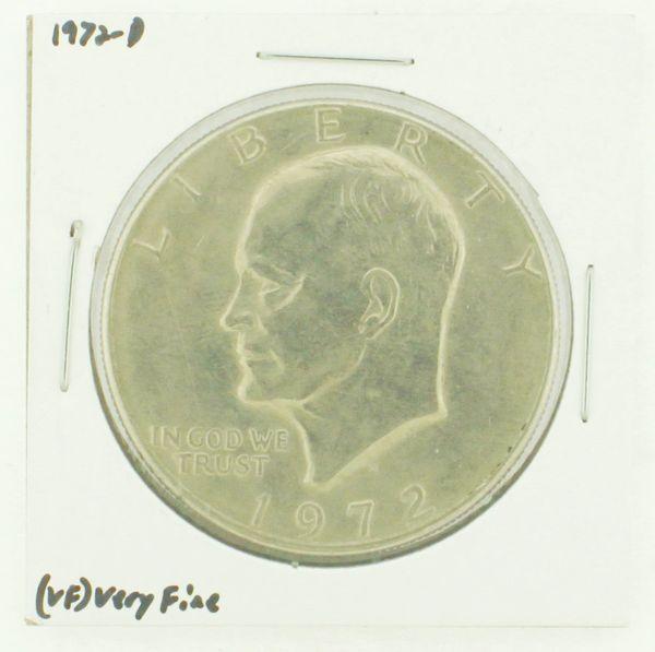 1972-D Eisenhower Dollar RATING: (VF) Very Fine N2-2806-39