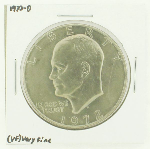 1972-D Eisenhower Dollar RATING: (VF) Very Fine N2-2806-40