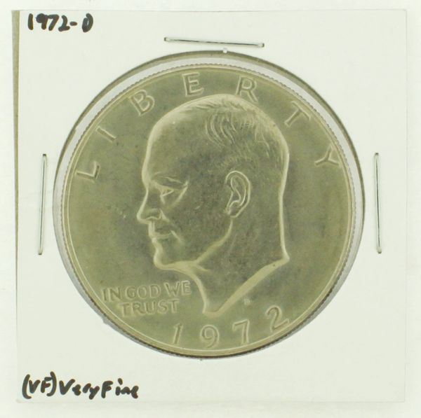 1972-D Eisenhower Dollar RATING: (VF) Very Fine N2-2806-42
