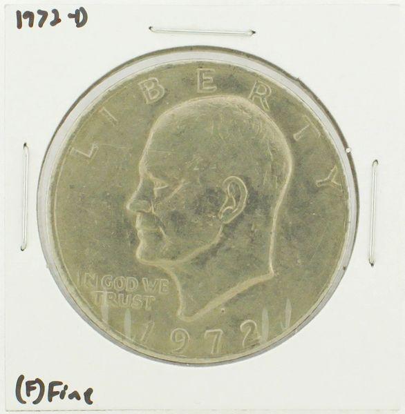 1972-D Eisenhower Dollar RATING: (F) Fine N2-2961-01